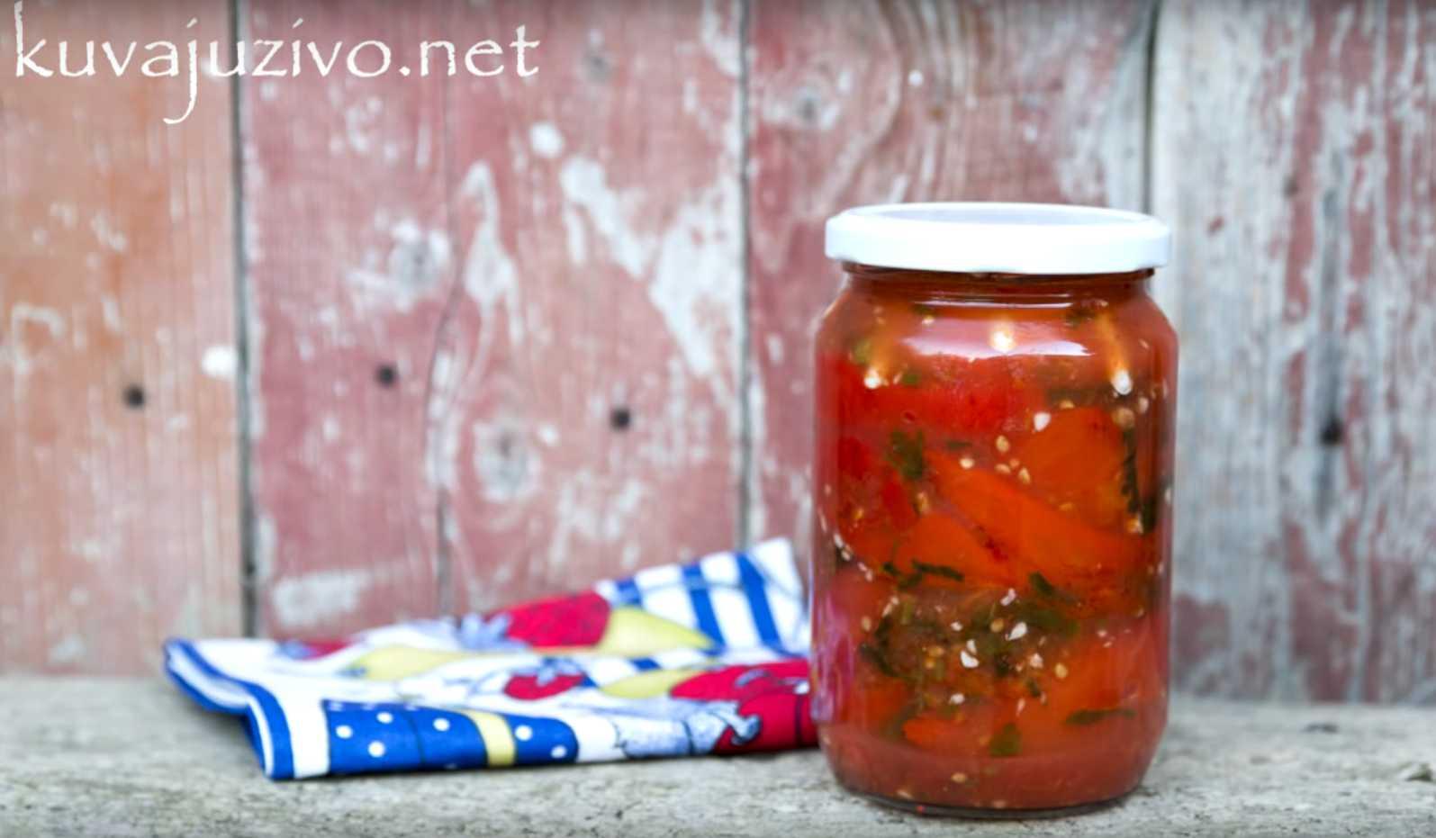 Barena parika u paradajz sosu bez konzervansa