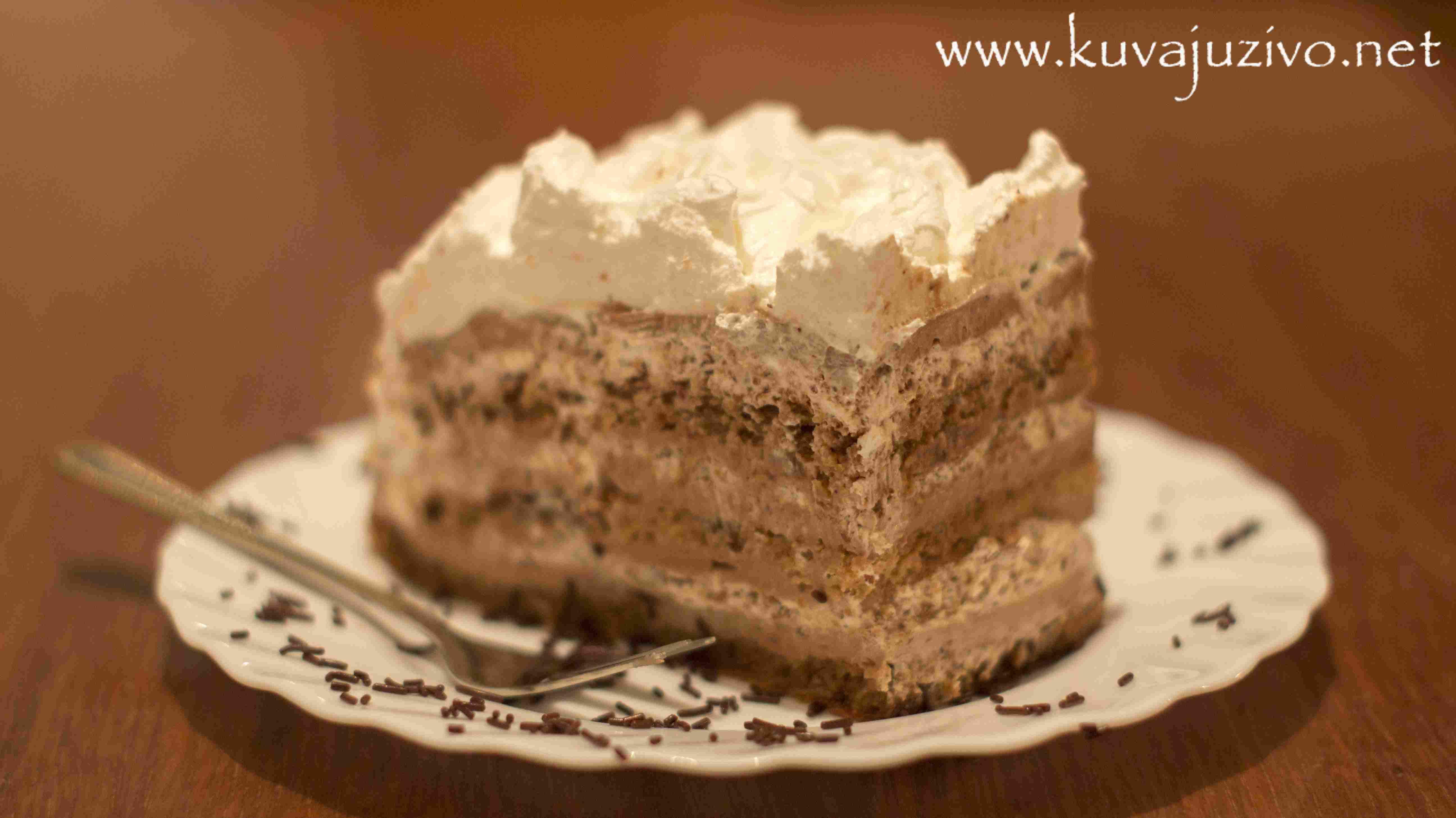 Torta kapućino