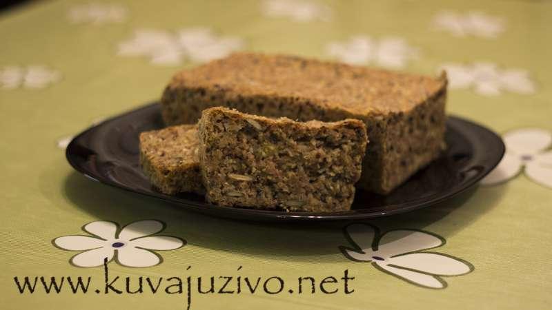 Integralni hleb bez brašna